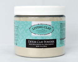 Detox Living Clay Powder 16oz.