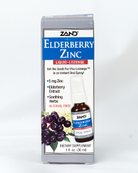 Elderberry Zinc spray, 1 fl. oz.