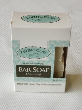 Living Clay Bar Soap - Unscented